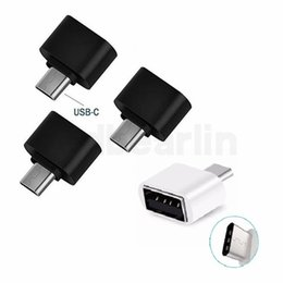 Otg Connector Australia - Type-C OTG USB 3.1 To USB2.0 Type-A Adapter Connector For Samsung Huawei Phone Cell Phone Accessories