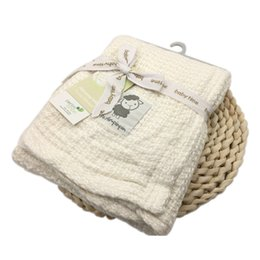 $enCountryForm.capitalKeyWord UK - Bamboo Baby Blanket Newborn Receiving Blanket Baby Swaddle Bamboo Cotton Kids Crochet Muslin Swaddle NEW