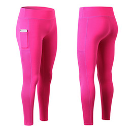 "$enCountryForm.capitalKeyWord Australia - New Sexy Girls Pocket for 4.7"" Phone Gym Long Yoga Pants Sports Trousers Women Compression Running Skinny Fitness Tight Leggings"