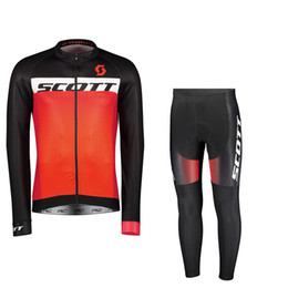 $enCountryForm.capitalKeyWord UK - SCOTT team Outdoor sports Cycling long Sleeves jersey pants sets road mountain bike mens polyester riding clothes Q0754