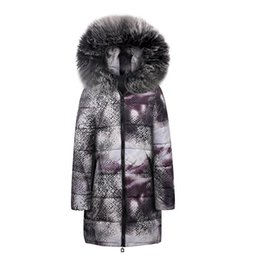 $enCountryForm.capitalKeyWord Australia - Casual Winter Jackets Fur Blue Plus Size Coats Womens Parka Slim Print Long Outwears Gray 2019 Warm Female High Street Overcoats