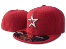 flat brim cap cheap 2019 - Wholesale 2018 Cheap Fitted hats in Baseball Embroidered Team Letter Flat Brim Hats Baseball Size Caps Brands Sports Cha