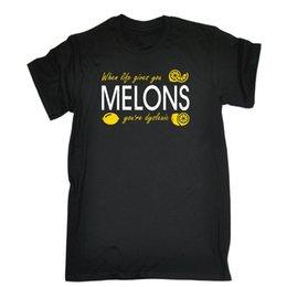 034686d62a90 When Life Gives You Melons Youre Dyslexic T-SHIRT Parody Dyslexia Birthday  Men Women Unisex Fashion tshirt Free Shipping