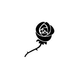 $enCountryForm.capitalKeyWord Australia - Beautiful Rose Flower Fashion Personality Creativity Vinyl Decal Sticker Truck Window Vinyl Hobby Car Bumper Sticker