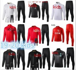 Boys tracksuits sets online shopping - New kids soccer jacket tracksuit kids long sleeve Full zipper football jackets training suit set