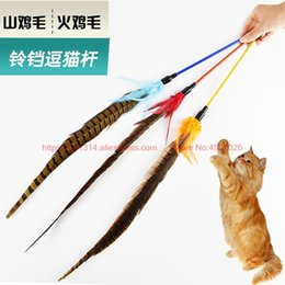 $enCountryForm.capitalKeyWord Australia - Turkey hair funny cat feathers Mountain chicken feathers funny cat pole supplies toys CFA competition dedicated