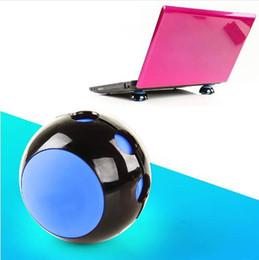Vente en gros Ordinateur portable anti-dérapant en silicone de refroidissement pad support balle pour Macbook Acer Asus Dell LG Samsung boule de réduction de la chaleur