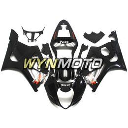 K3 Gsxr Fairings Australia - Gloss Black ABS Plastic Injection Motorcycle Fairings For Suzuki GSXR1000 K3 2003 2004 03 04 Covers gsxr 1000 motorcycle cowlings hulls