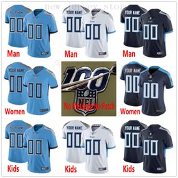 tannehill jerseys UK - Custom 100th TennesseeTitans 54 Rashaan Evans 84 Corey Davis 99 Jurrell Casey 26 Logan Ryan 17 Tannehill Men Women Kid Youth Stitched Jersey
