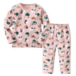 d715060f3d Cute sleep shorts online shopping - Cute Boys Girls Pajama Sets Sleep Wear  Candy Color Cartoons