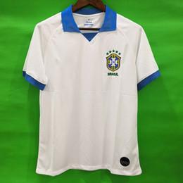 ca2b76ee5db Thailand Brazil soccer jerseys camisa de futebol copa america 2019 2020  brasil camiseta COUTINHO VINICIUS jersey NEYMAR JR football shirt
