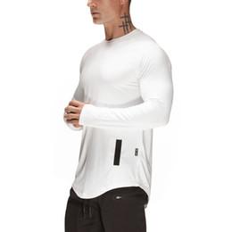 3c59f1cce New Sport Shirt Men Autumn Fitness Gym T Shirt Men Long Sleeve Quick Dry  Running Shirt Men Sport Top Workout Outdoor T-Shirt C18112201