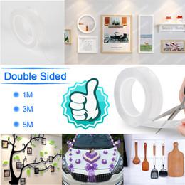 $enCountryForm.capitalKeyWord Australia - 1 2 3 5m Reusable Double-Sided Adhesive Nano Traceless Tape Removable Sticker Washable Adhesive Loop Disks Tie Glue Gadget