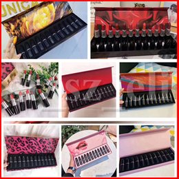 China M Lip Makeup Set Matte Lipstick Luster Forest Sexy Lip Kit 12 Colors Retro Lipsticks Frost Sexy Lip sticks 7 Styles suppliers