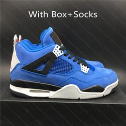 Wholesale men day socks online – funny Outlet J4 s Basketball Shoes III Eminem X Encore Men Sports Shoes High Quality Sneaker For Men With Box and Socks