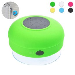 $enCountryForm.capitalKeyWord Australia - Wireless Waterproof Mini Bluetooth Speaker with wall Suction Cup and Built-in Microphone Handsfree used outdoor Showers or bathroom pool