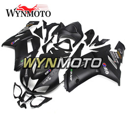 $enCountryForm.capitalKeyWord Australia - Matte Pure Black Motorcycle ABS Plastic Injection Full Fairings For Kawasaki ZX6R 07 08 ZX-6R Ninja 2007 2008 ZX-6R 07 08 Bodywork New Cover