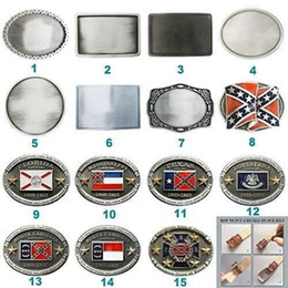 $enCountryForm.capitalKeyWord Australia - New Vintage Flag Cosplay Costume Blank Belt Buckle Mix Styles Choice Stock in US Each Buckle is Unique Choose Your Favorite Buckle Design