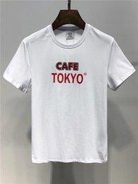 Cotton T Shirts Lace Canada - Mens Summer T shirt Plus Size Shirt Short Sleeve t shirt Printed Cotton T-shirt Men Clothing Hot Sales Cotton New brand