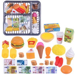 play toys kitchen set gift NZ - 26Pcs Children Pretend Play Kitchen Toys Simulation Kitchen Tableware with Drain Basket Playing Set for Boys Girls Toy Gifts