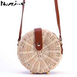 $enCountryForm.capitalKeyWord Australia - Namvitae Women Straw Bag Bohemian Bali Rattan Beach Handbag Small Circle Lady Vintage Crossbody Handmade Kintted Shoulder Bags