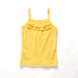 $enCountryForm.capitalKeyWord Australia - New Summer Girls T Shirt Cotton Sleeveless T Shirt For Girls Tops Tees Outwear Clothing Baby Kids Clothes 2-8 Year