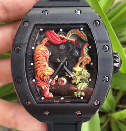 $enCountryForm.capitalKeyWord Australia - Top Brand New Arrivals Big 50MM Men Luxury Mechanical Skeleton Watches tags Black Rubber Stainless Tiger Dragon Face Mens Sport Wristwatches