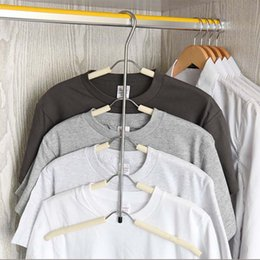 $enCountryForm.capitalKeyWord Australia - Closet Multifunctional hanger Stainless Steel Clothing Storage Racks household Clothes multi-layer Holder Wardrobe Drying