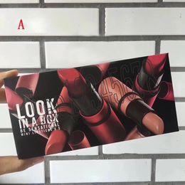 $enCountryForm.capitalKeyWord Australia - Hot M brand Frost Sexy lipstick M Makeup look in a box mini size 5pcs set Lipsticks Matte Lipstick