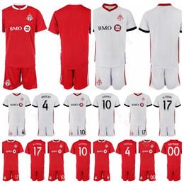 0402ecd2694d3 Toronto FC Fútbol 4 Michael Bradley Jersey Set 10 Sebastian Giovinco 17  Jozy Altidore Confecciona una camiseta de fútbol personalizada Kits de  uniforme 2018 ...