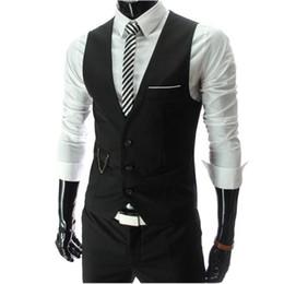 $enCountryForm.capitalKeyWord Australia - 2018 New Arrival Dress Vests For Men Slim Fit Mens Suit Vest Male Waistcoat Gilet Homme Casual Sleeveless Formal Business Jacket