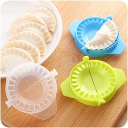 Gadgets Utensils Australia - heap Other Utensils Hoomall Creative Plastic Portable Clips For Dumplings Kitchen Accessories Home Kitchen Tools Gadgets 1PC Mini Dumplin...