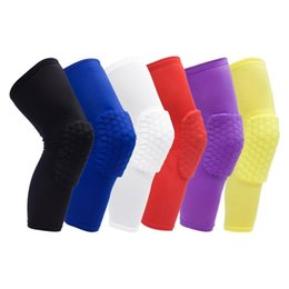 volleyball elbow pads UK - 1Pc Sport Safety Football Volleyball Basketball Kneepad Elbow Tactical Knee Pads Calf Support Kinesio Ski Snowboard Protectors Unisex