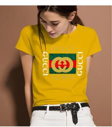 3aafa691138 2019 marca italiana señora diseñador camisetas verano lujo tees hombres moda  estilo camiseta marca camisetas camiseta gu     i ropa de mujer .