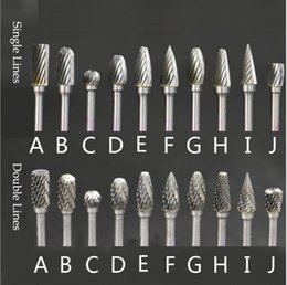 "10x//Set 1//8/"" 6mm Tungsten Carbide Burr 3mm Rotary Cutter files Creative Tool #"