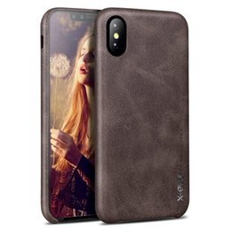 $enCountryForm.capitalKeyWord Australia - X-level Luxury Leather Case For Iphone Xs xs Max  xr Original Ultra Thin Iphone X Back Cover Business Vintage Case For Apple 10 T190701