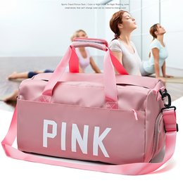 Luggage Packs Australia - WaterProof Travel Bags Duffle Bag Luggage Travel Bags Hand Luggage Nylon Women Packing Cubes Capacity Journey Handbag P