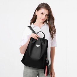korean oxford backpack NZ - Shoulders Both New Pattern Korean Oxford . More Water Function Student A Travelling Bag Backpack