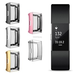 Cover For Smart Watch Australia - Fitbit Charge 2 Protector Full Screen Protector Cover Smart Watch Protective Case For Fitbit Charge 2new