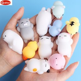 Mobile Phone Accessories Random 50pcs Food Squishy Toy Antistress Ball Squeeze Joke Rising Toys Soft Sticky Squishi Stress Relief Toys Phone Straps Funny Mobile Phone Straps