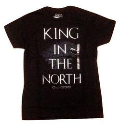 $enCountryForm.capitalKeyWord Australia - Game Of Thrones King In The North Stark Direwolf T-Shirt NWT Licensed & Official 2018 Men'S Lastest Fashion Short Sleeve