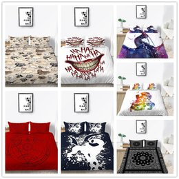 $enCountryForm.capitalKeyWord Australia - Red blue Bedding Set king Twin Queen Size with Elegant pattern Bedspreads 2 3pcs with pillowcase of Bedding Cover Suit