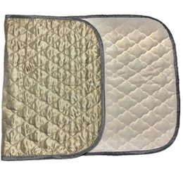 $enCountryForm.capitalKeyWord Australia - Earthing Half Bed Sheet Double-layer Silver Fiber Mat Health Care Antimicrobial Fabric Conductive Grounding Cotton Durable