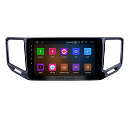 $enCountryForm.capitalKeyWord NZ - 10.1 inch Android 9.0 GPS Navigation Radio for 2017-2018 VW Volkswagen Teramont with Bluetooth HD Touchscreen AUX USB WIFI Carplay Car Dvd