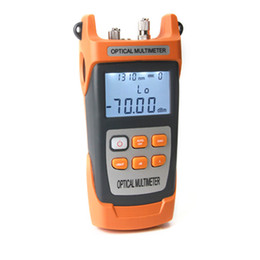 Chinese  handheld 2 in 1 optical power meter 800-1700nm SC FC Adapter fiber optical with VFL function manufacturers