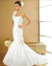 $enCountryForm.capitalKeyWord Australia - Free shipping fashion 2018 woman designer elegant one shoulder long taffeta mermaid with jacket mother of the bride