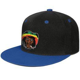 $enCountryForm.capitalKeyWord Australia - Fitted Men Women Trucker cap Bob marley Jamaica Reggae Cartoon avatar flat bill Hip Hop Snapbacks hats Fit Beach Hat