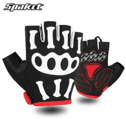 Black Yellow Bicycle Gloves Australia - Adult Kids Cycling Gloves Half Finger Bike Bicycle Gloves Anti-Slip Gloves Pad Racing Bike Glove Free Shipping