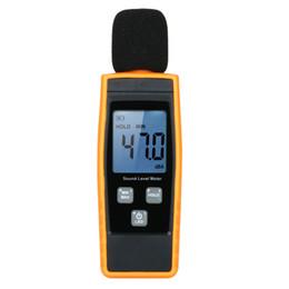 Venta al por mayor de Venta caliente Nueva Pantalla Lcd Medidor de Nivel de Sonido Digital Decibel Monitoreo Tester Logger Tester 30 -130dba Medición de Ruido