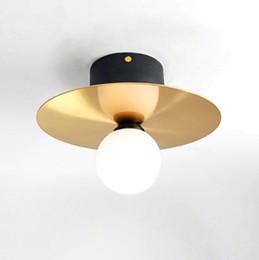 $enCountryForm.capitalKeyWord UK - JESS New Nordic Art Style Led Ceiling Lights Copper Gold Study Aisle Bar Light Italy Designer Ceiling Lamp Free Shipping